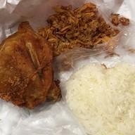 เมนูของร้าน ไก่ทอดบังเจน คลองเรียน ตลาดคลองเรียน