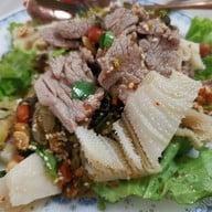 เมนูของร้าน ขนมจีนไหหลำ เจ๊วา-เจ๊หย่ง สะพานขาว ซ. ลูกหลวง 8