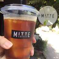 เมนูของร้าน Mitte Coffee, Cafe & Friends