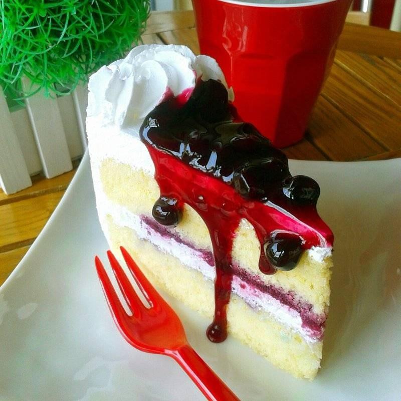 Blueberry Fresh Cream♥