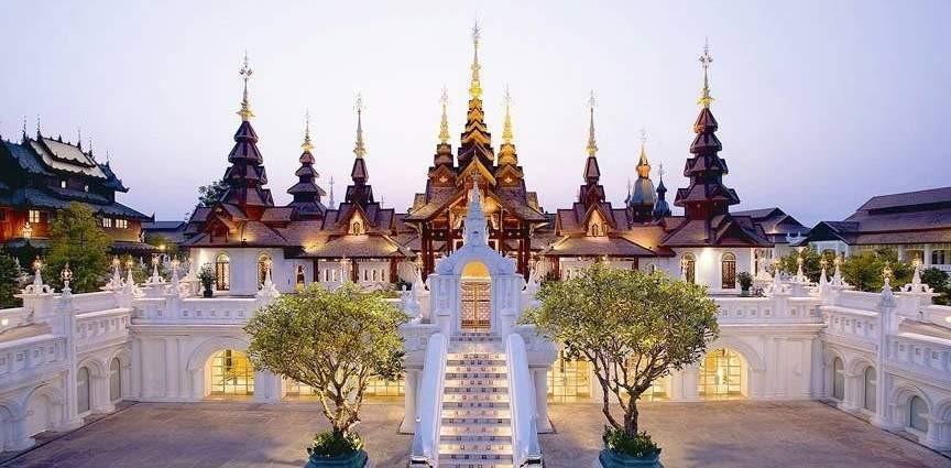 ดาราเทวีเชียงใหม่ โรงแรมที่ดีที่สุดอันดับ 1 ของประเทศไทยประจำปี 2557