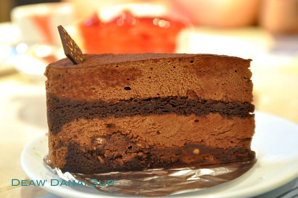 Chocolate Mousse Cake (140บาท)