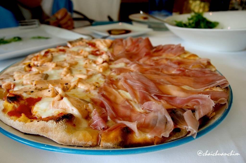 Zanotti Pizza + Salmon
