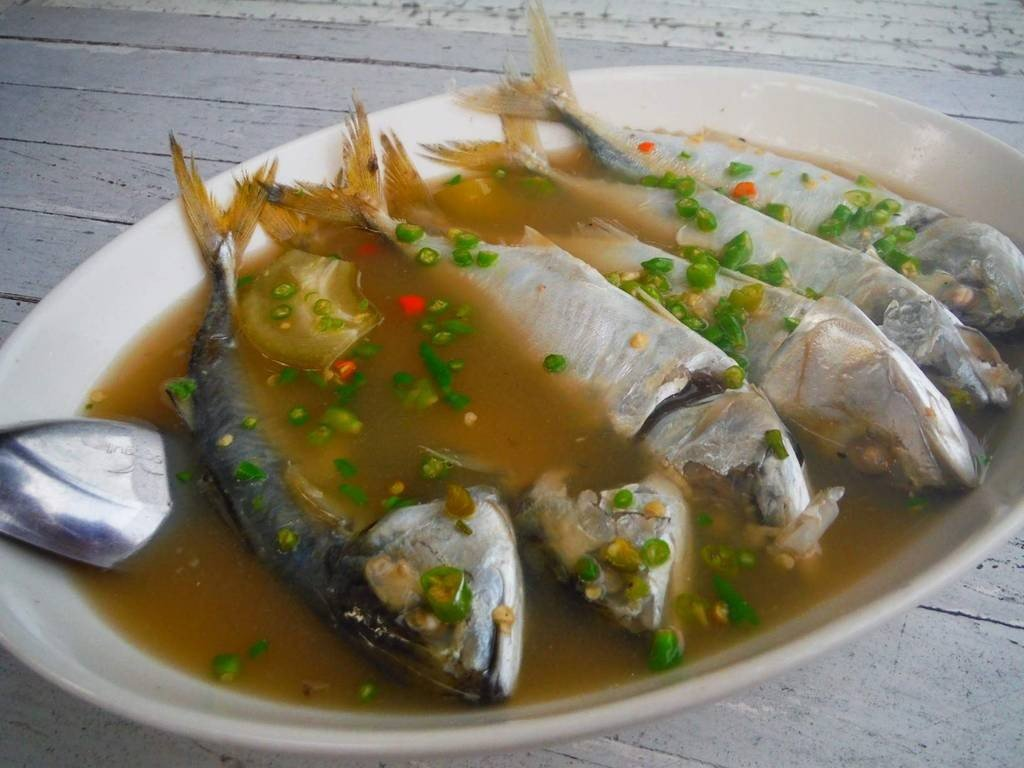 ปลาทูต้มมะดัน