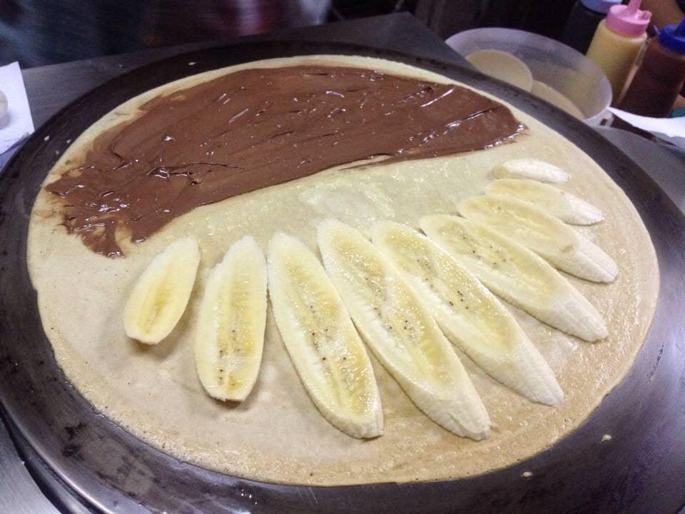 ไส้กล้วย+นูเทล่า