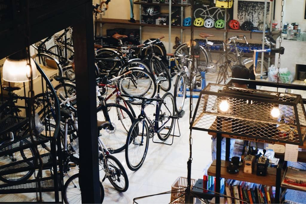 พื้นที่สำหรับทำจักรยานค้า