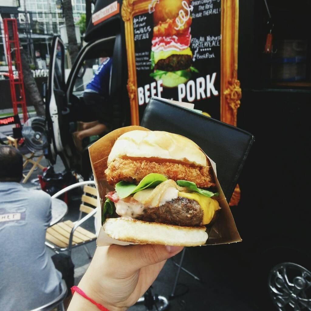 Mother Trucker Burger