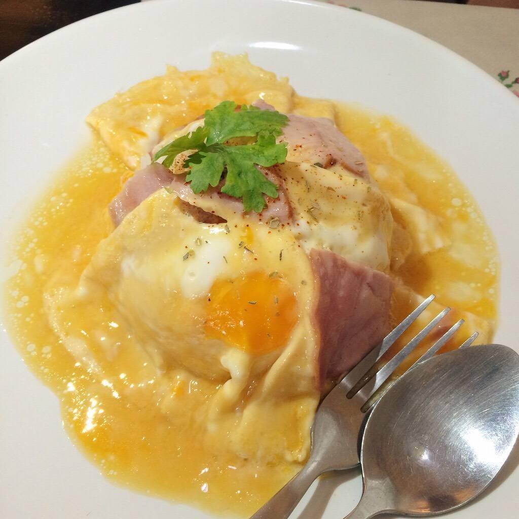 ข้าวไข่ข้นแฮม