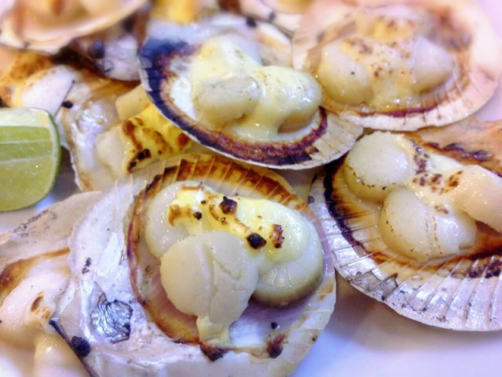 หอยเชลล์อบชีสสส