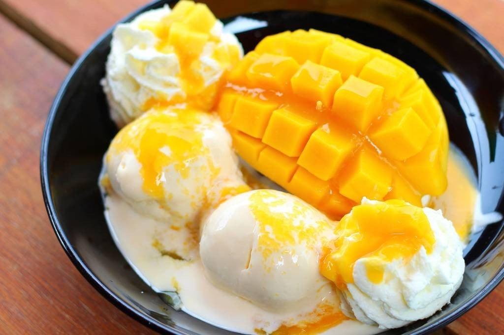 Mango Ice Cream Set (159 บาท)