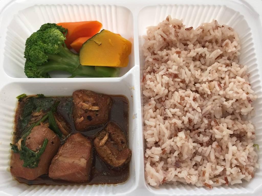 ข้าวสังข์หยม+ไก่ตุ๋นยาจีน