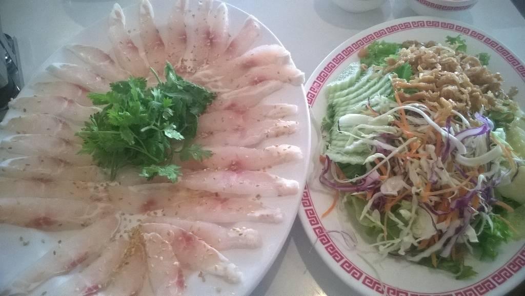 ปลาดิบแบบจีน