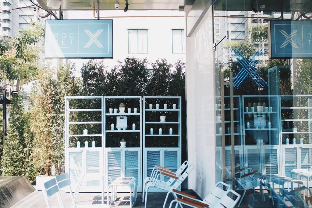 หน้าร้าน Rocket X  72 Courtyard