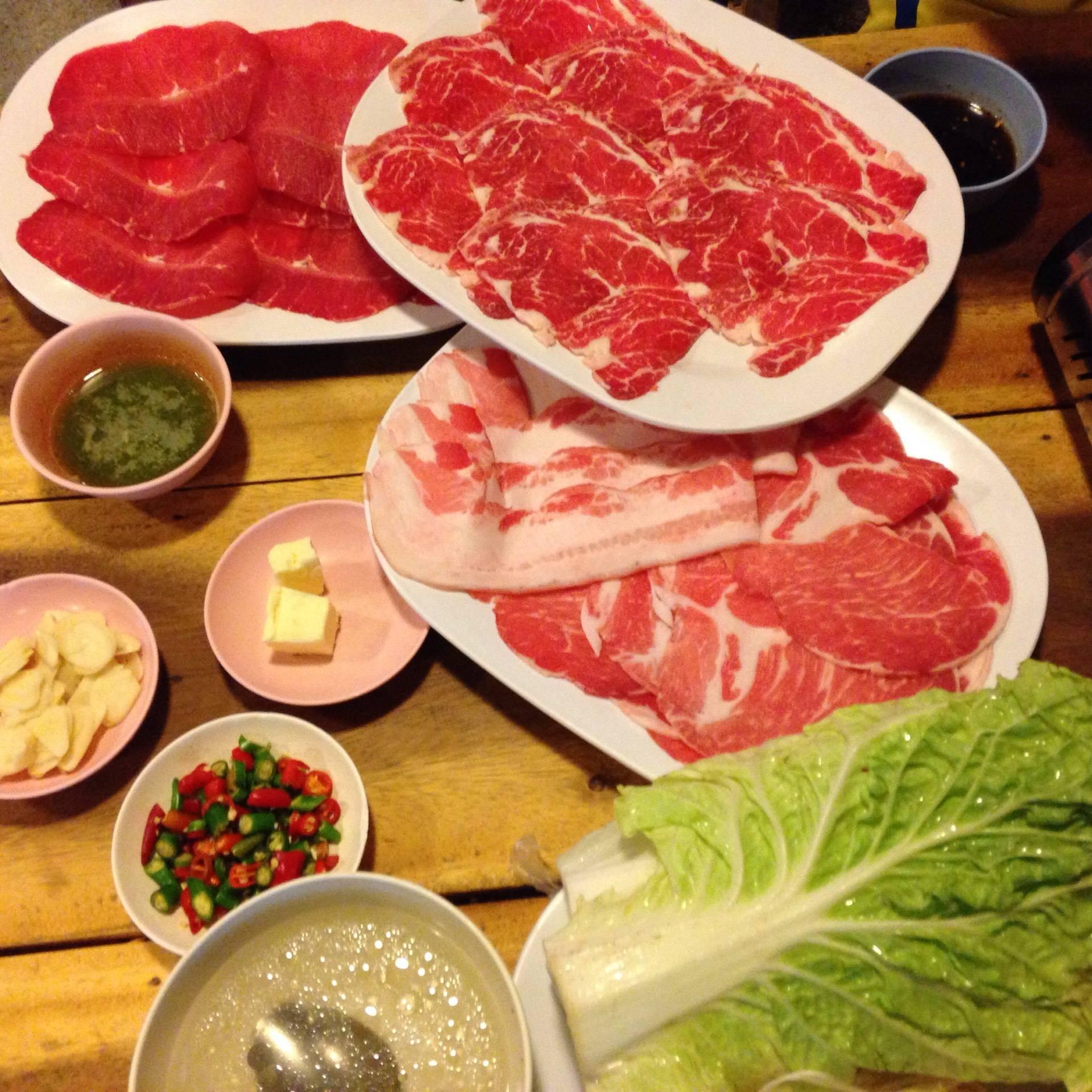 เนื้อย่างกะทะร้อน บุฟเฟ่ต์โคขุน ปรีดีพนมยงค์ 46