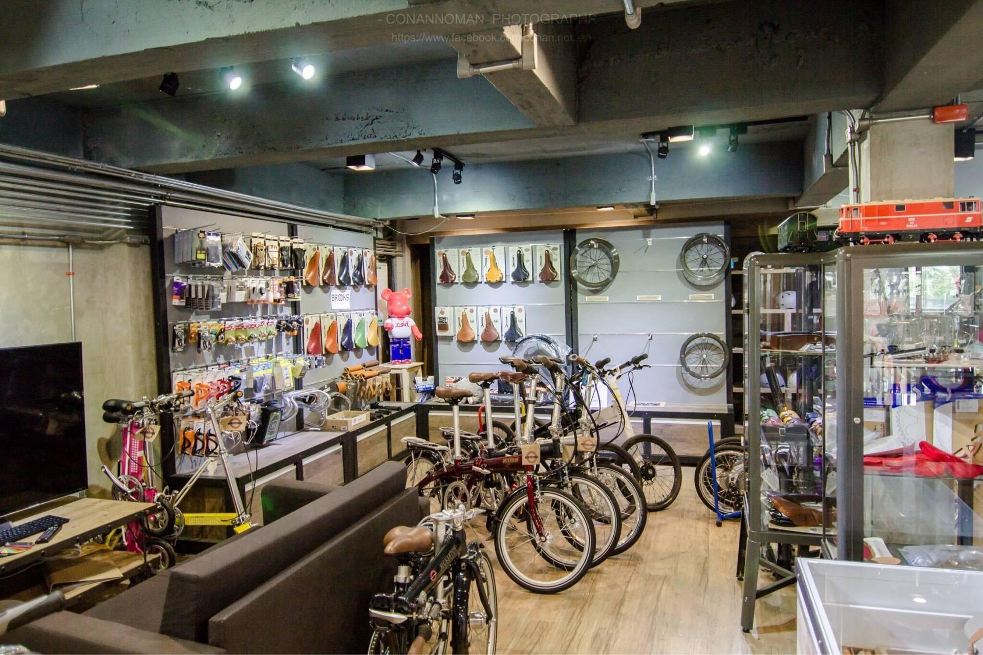จักรยานและอุปกรณ์ต่างๆ