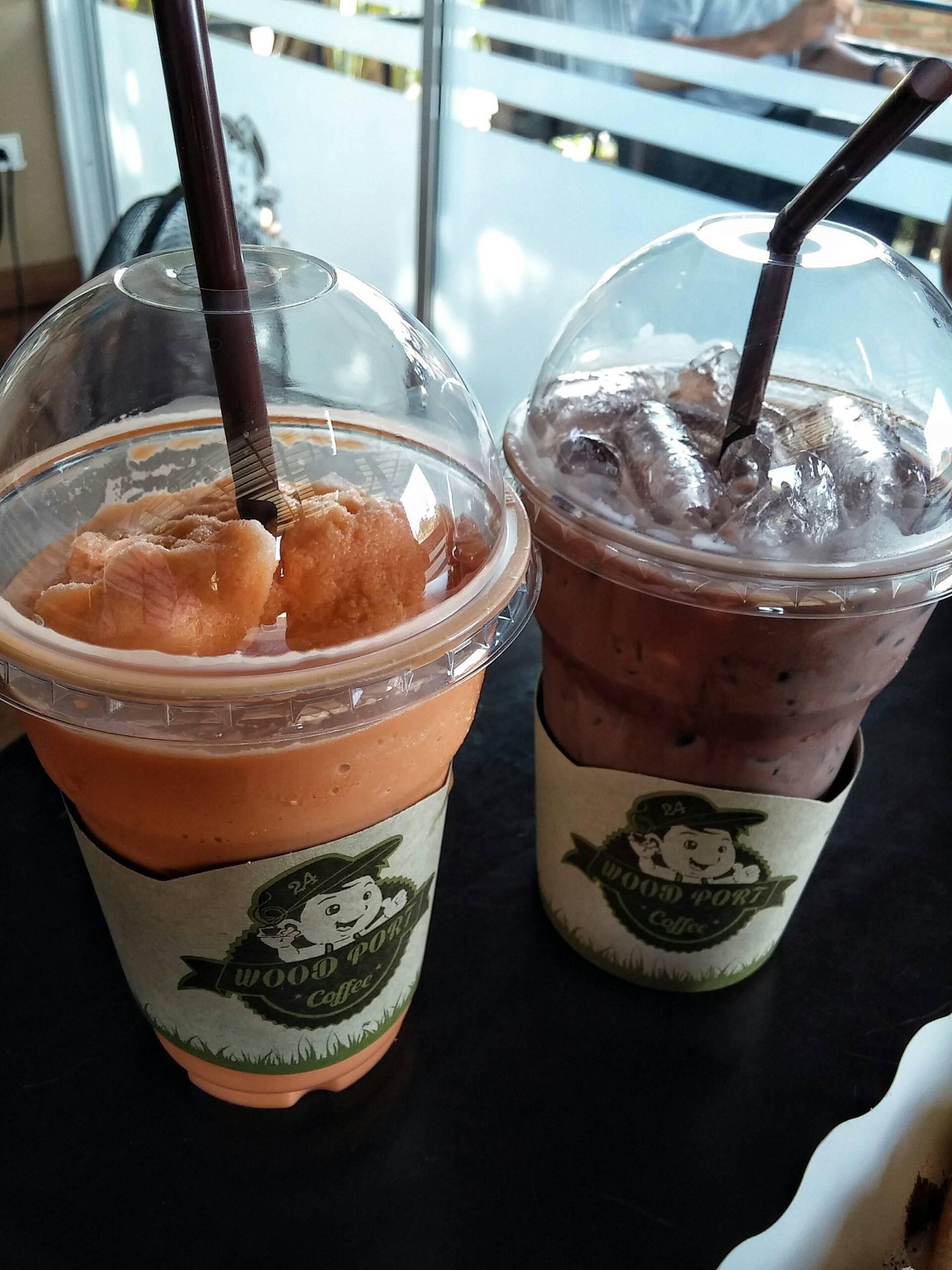 ชาไทย+โกโก้เย็น