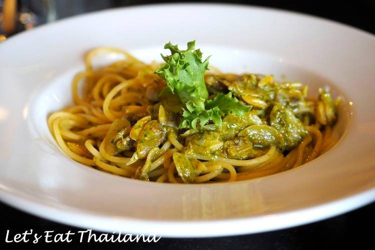 Vongola Olio Spaghetti (125 บาท) ★★★ ลด 30% เหลือ 87 บาท
