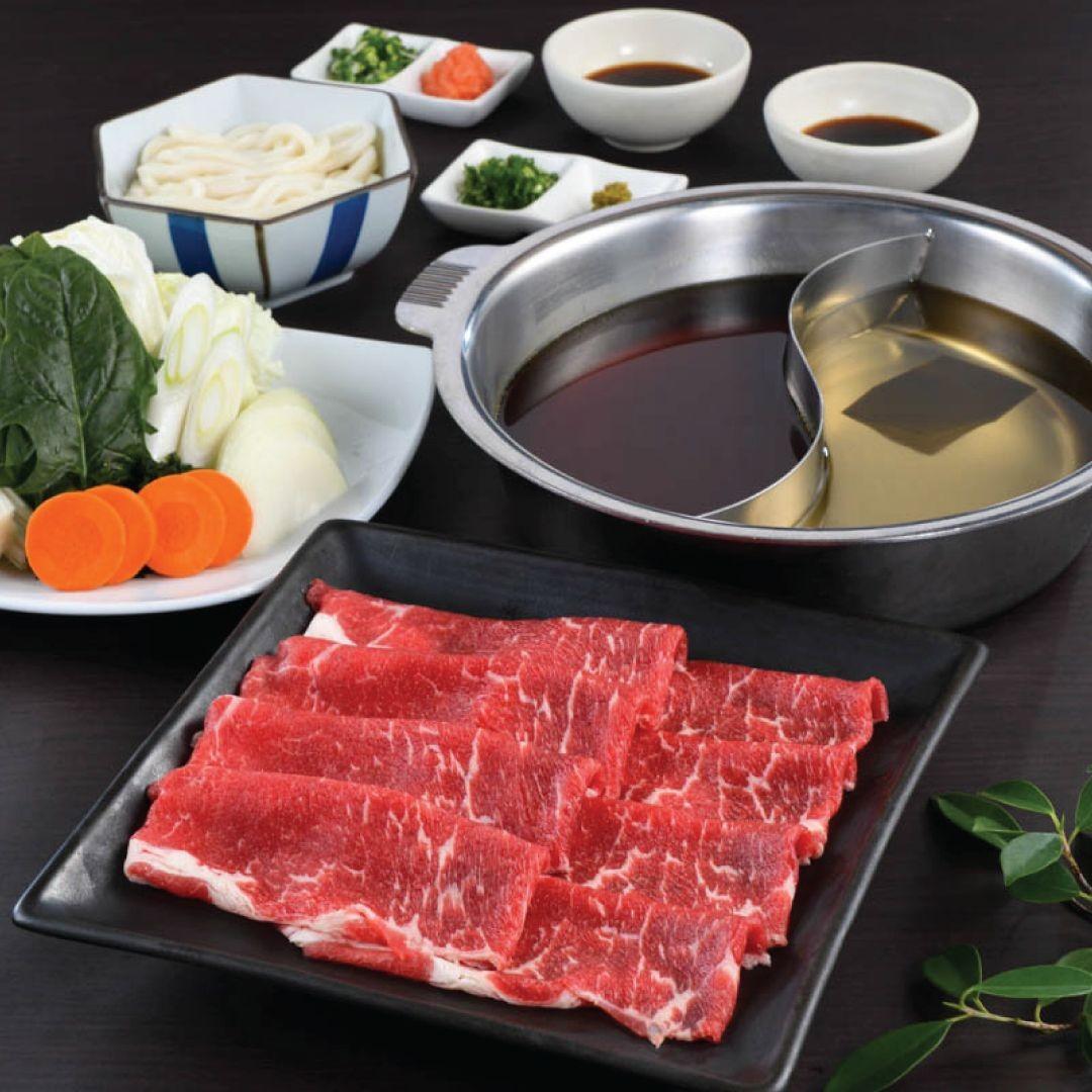 ชุดชาบู ชาบู เนื้อออสเตรเลีย ( Aussie Beef Shabu Shabu )