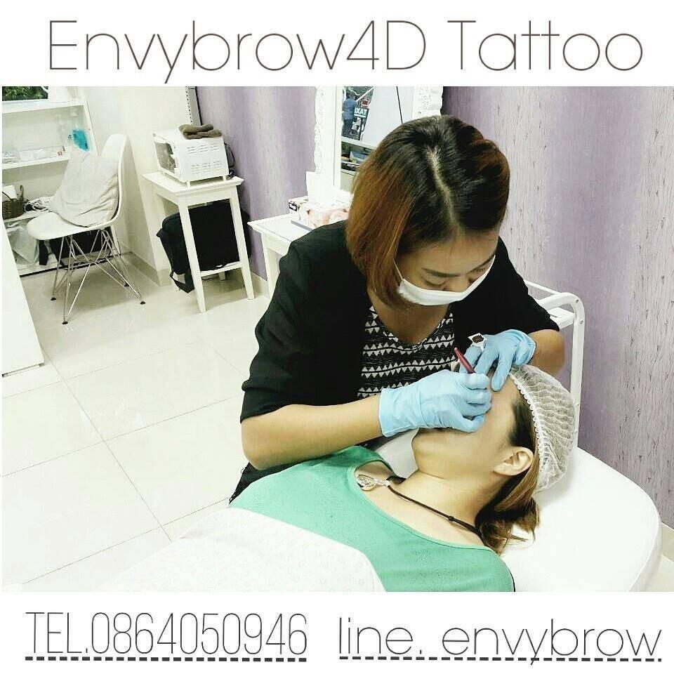 Envybrow 4D Tattoo by ช่างผึ้ง ลาดพร้าว