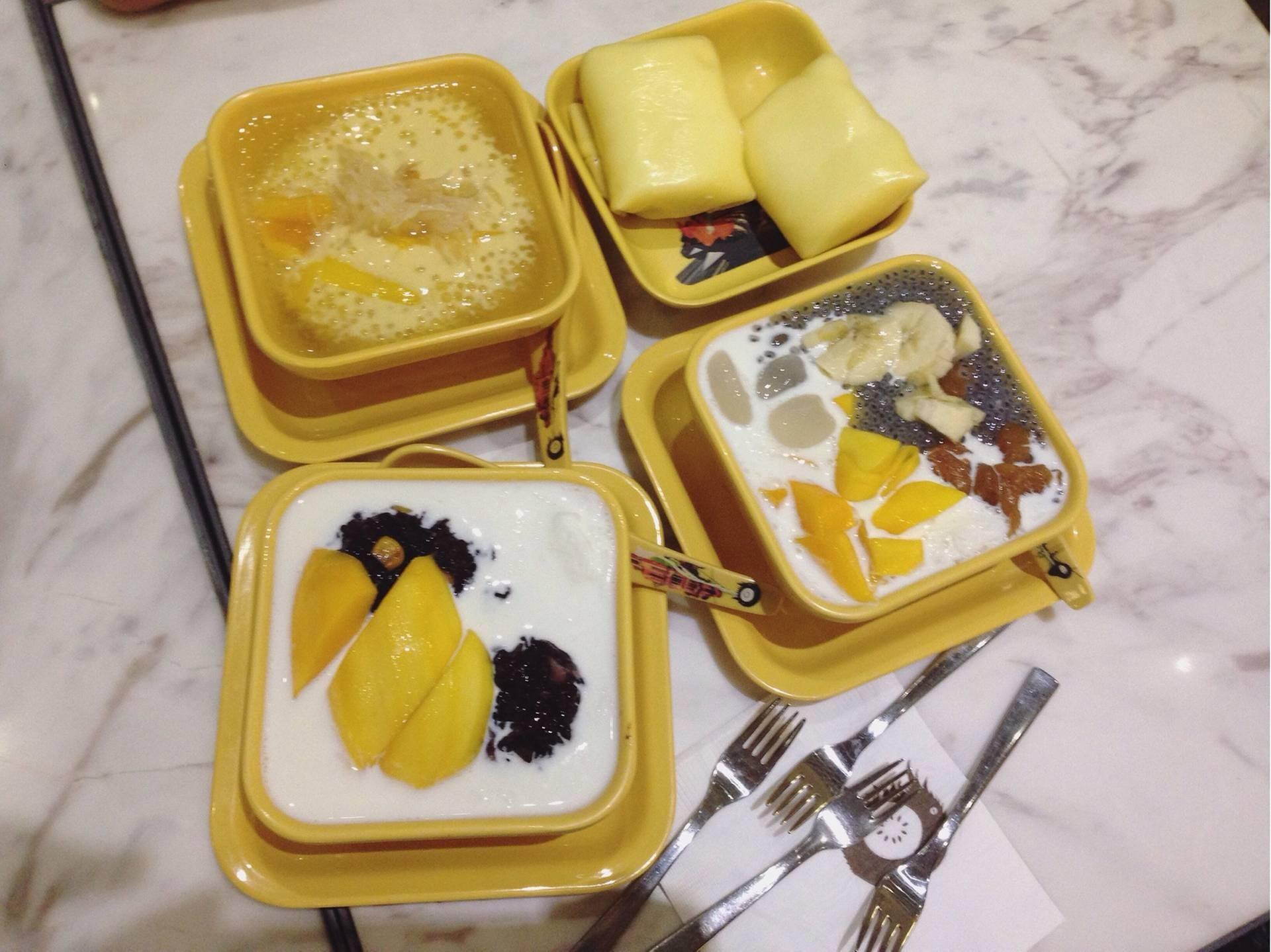 Honeymoon Dessert 4fl Langham Place