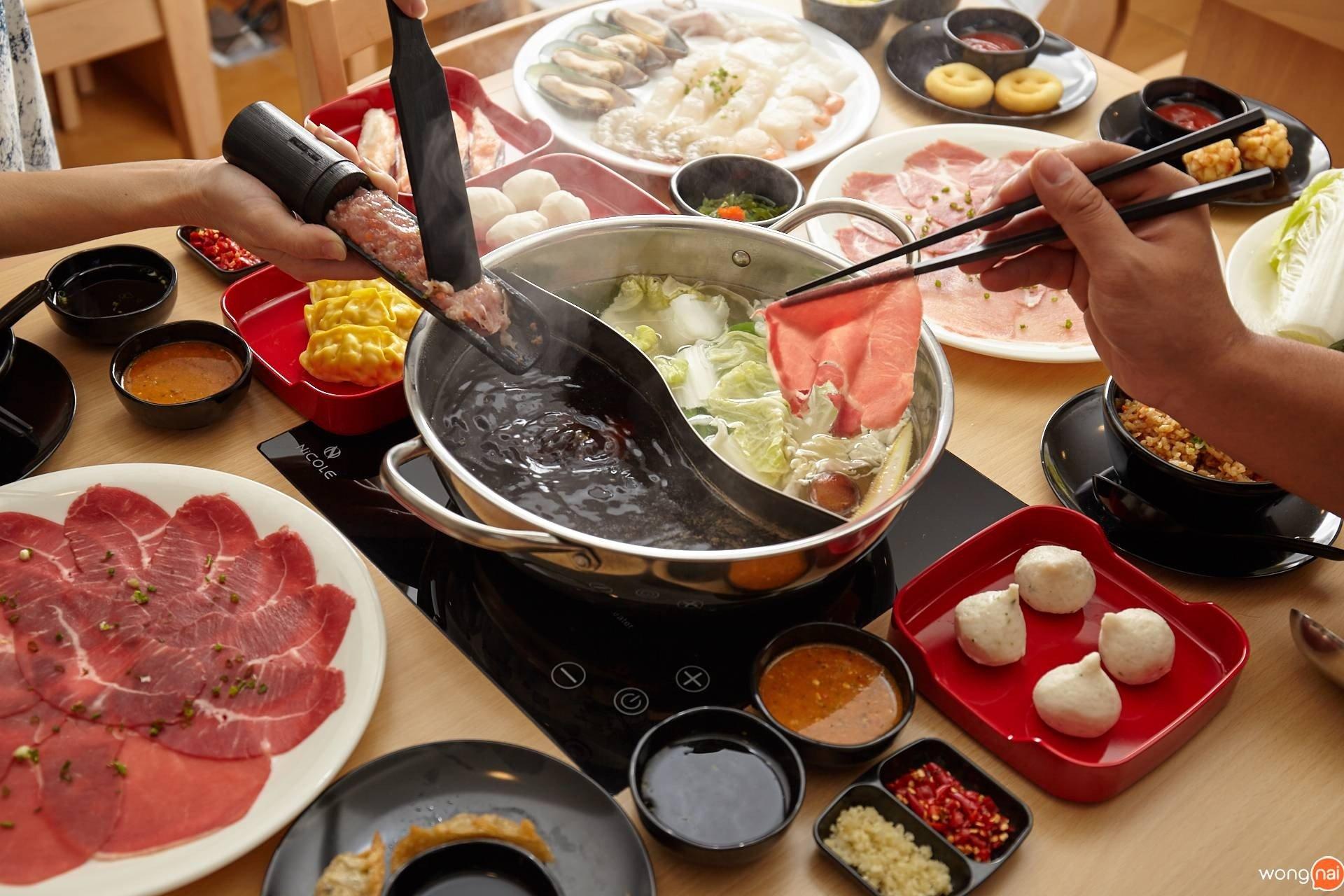 """Kanzen Shabu Premium Buffet"""