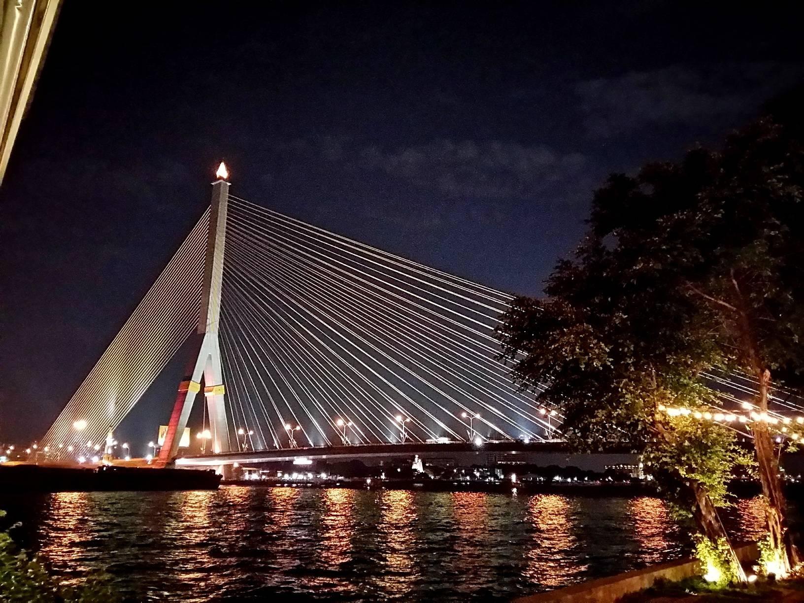 วิวสะพานพระราม 8 เต็มๆตา