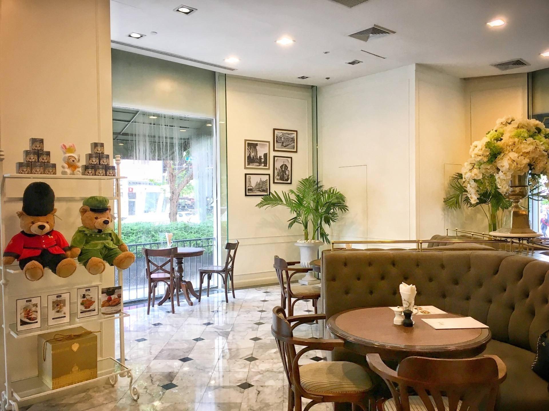 Harrods Café The Mercury Ville @ Chidlom