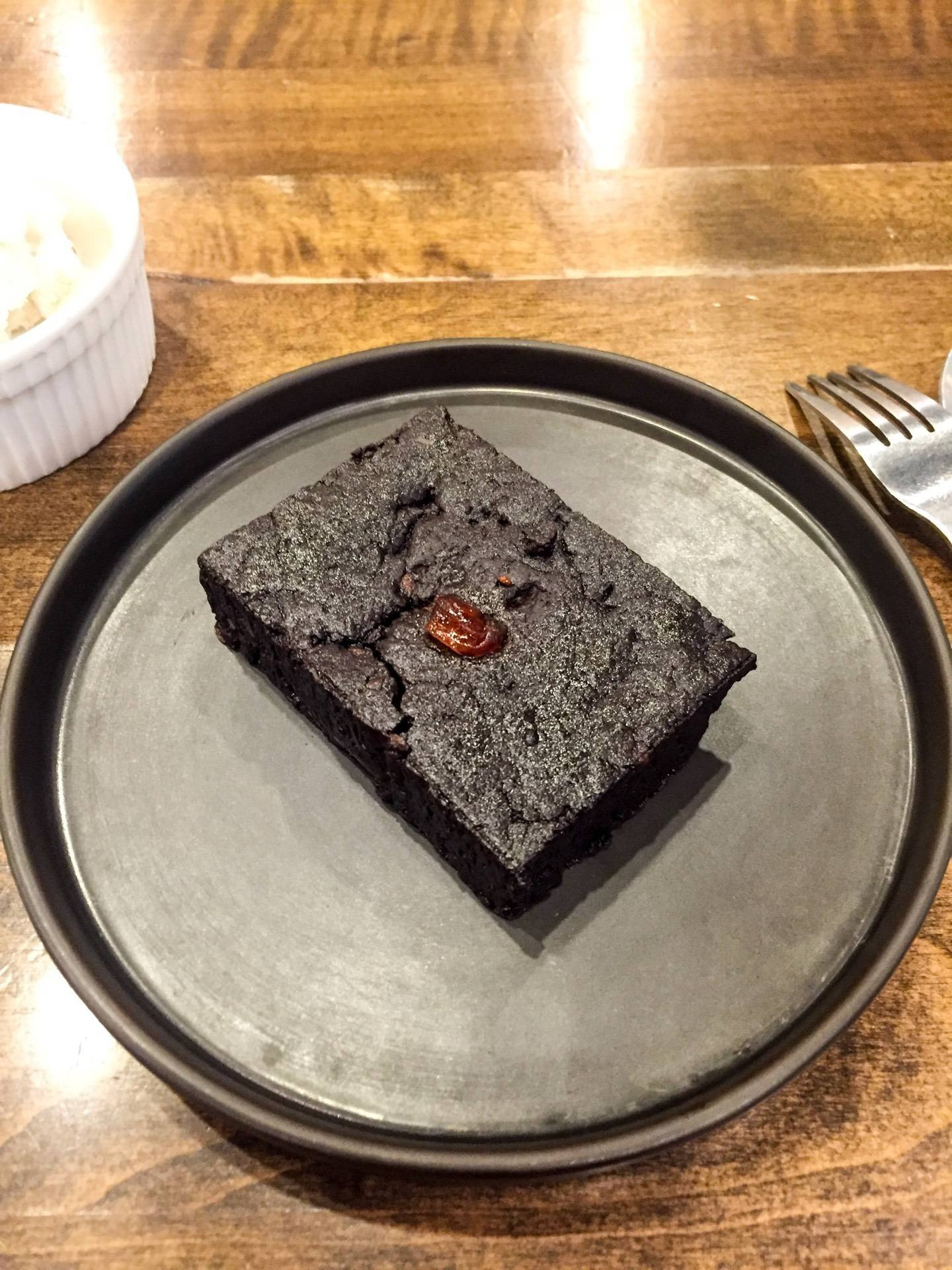 Vegan Fudge Brownie 75 THB