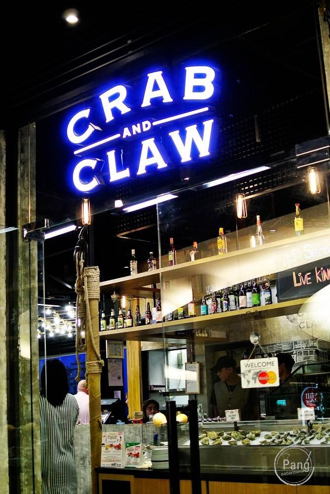 หน้าร้าน Crab and Claw The EmQuartier