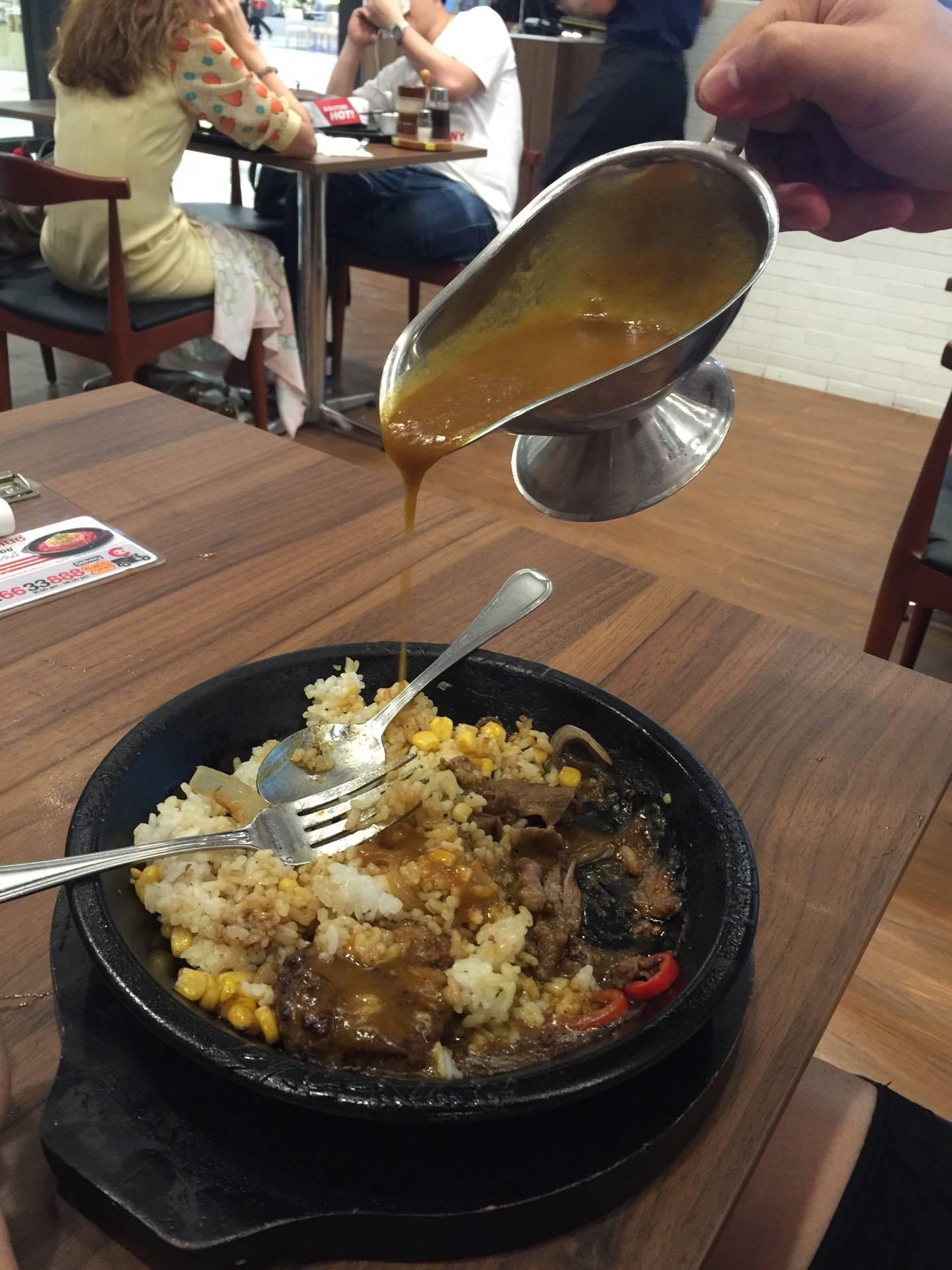 เมนูของร้าน Pepper Lunch เซ็นทรัลเวิลด์
