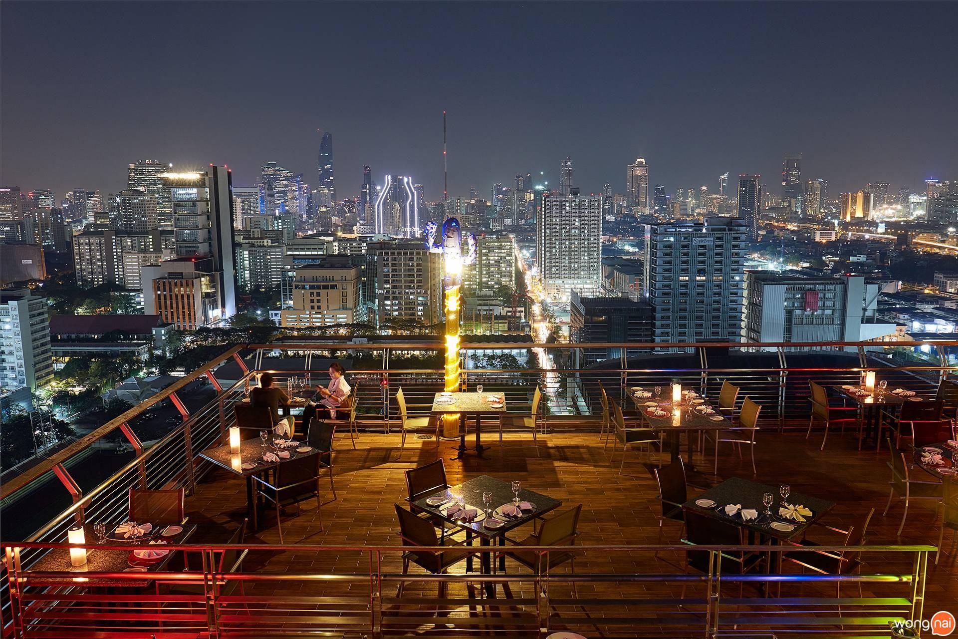 The Roof Gastro Siam@Siam Design Hotel Bangkok