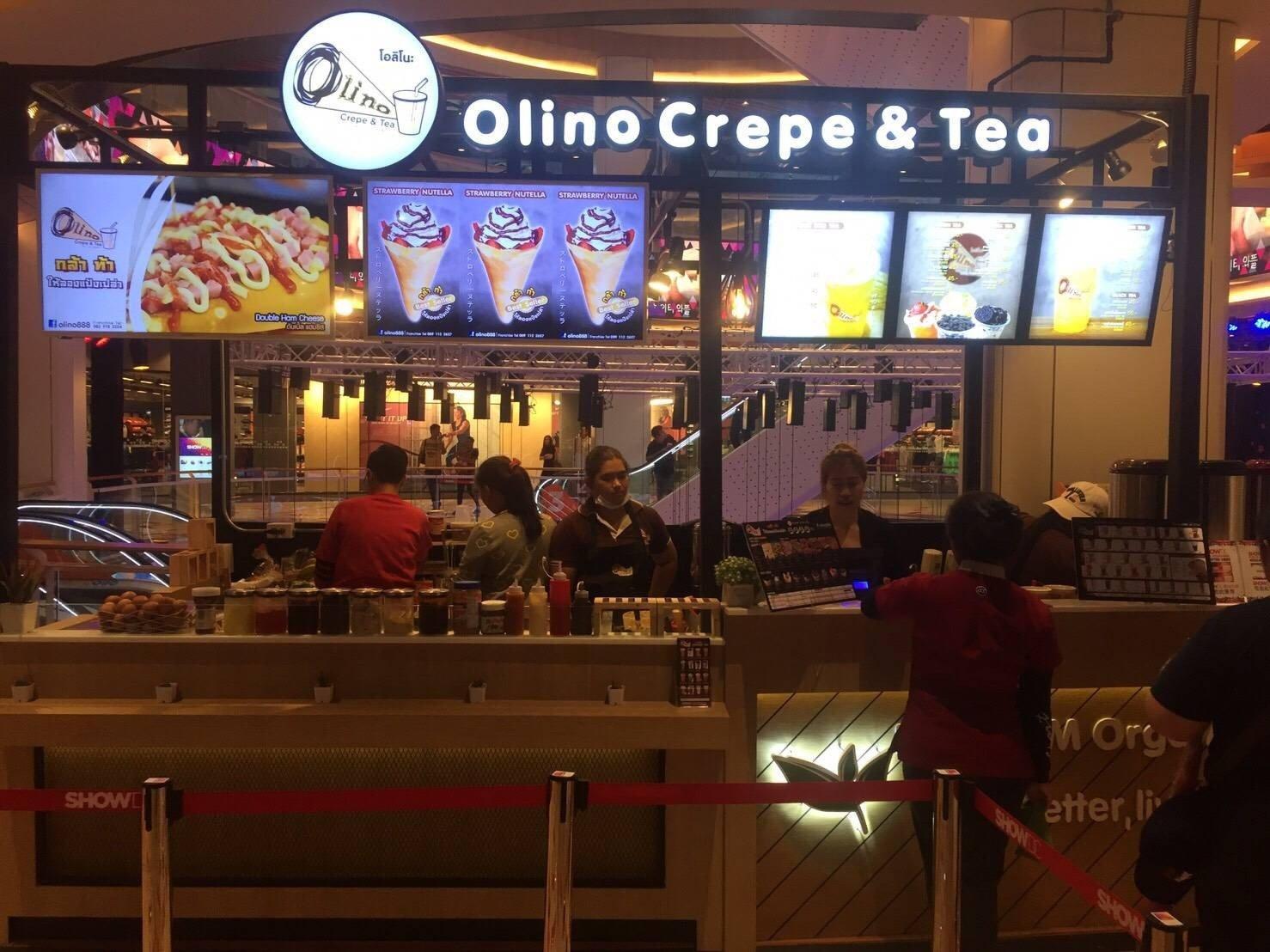Olino Crepe & Tea Show DC