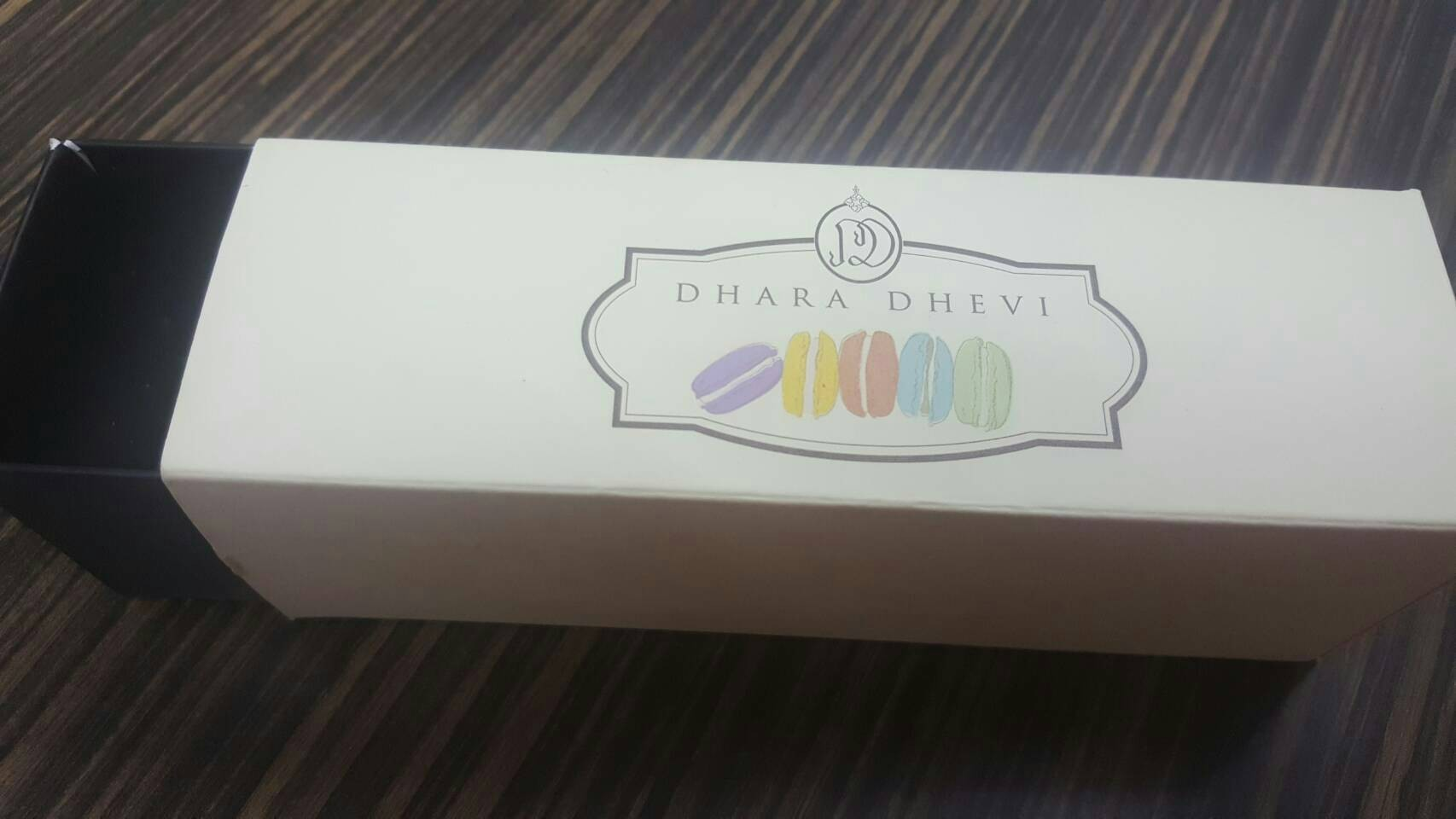 เมนูของร้าน Dhara Dhevi Macaron เซ็นทรัล ลาดพร้าว