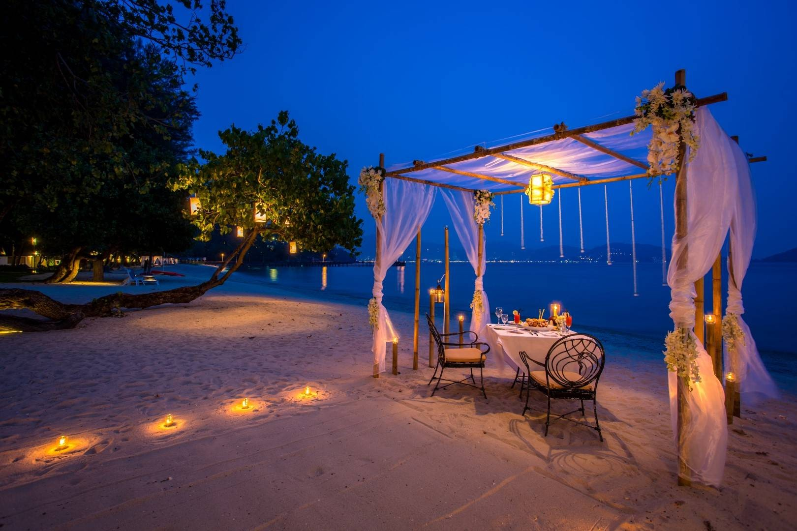 Romantic Private Beach Dining Phuket