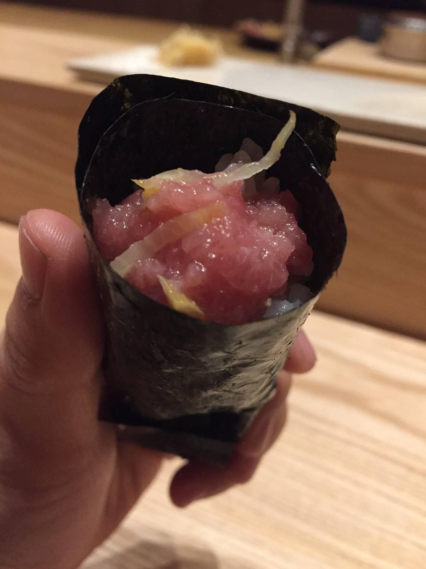 เมนูของร้าน Sushi Zo