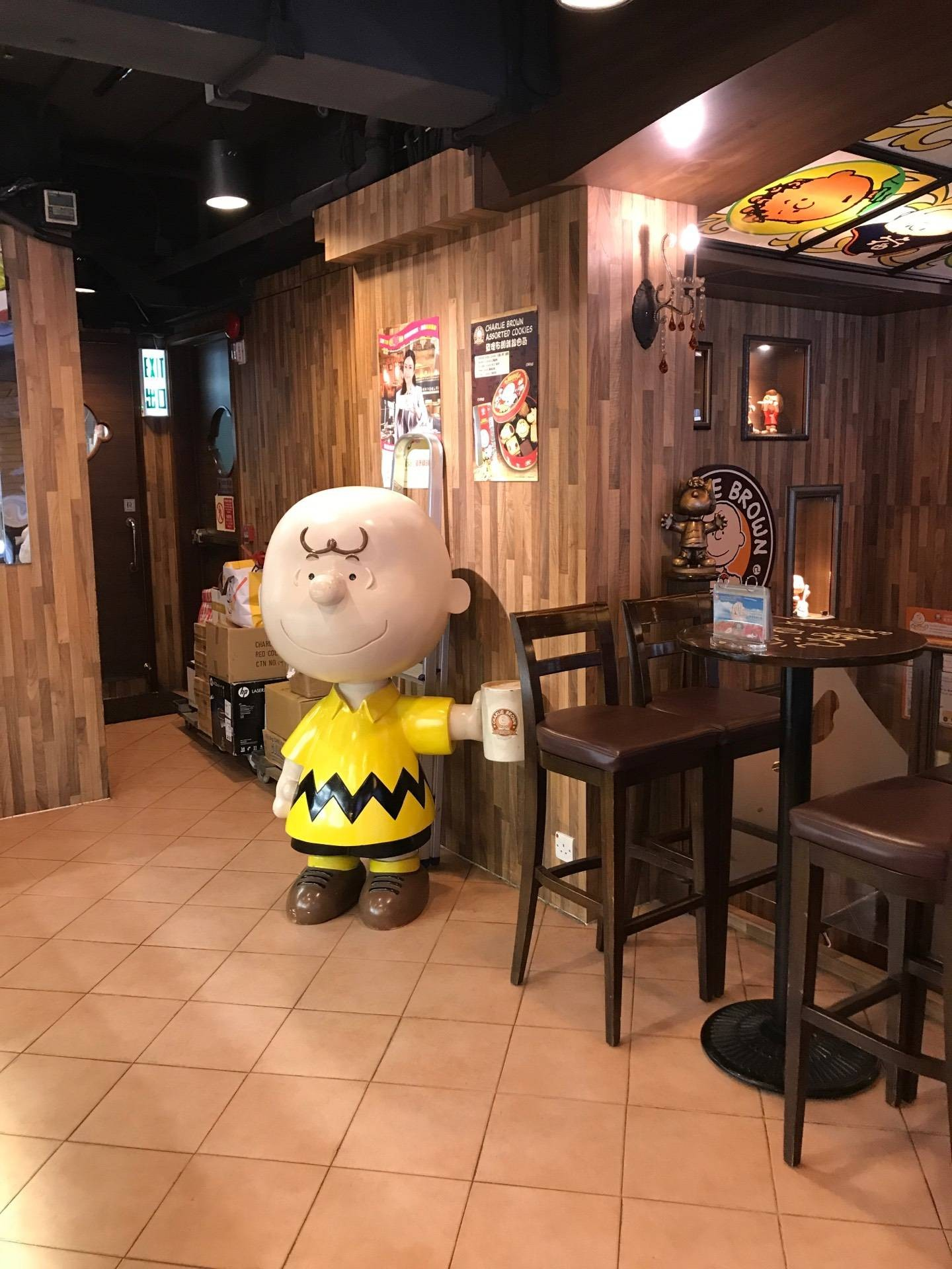 Charlie Brown cafe