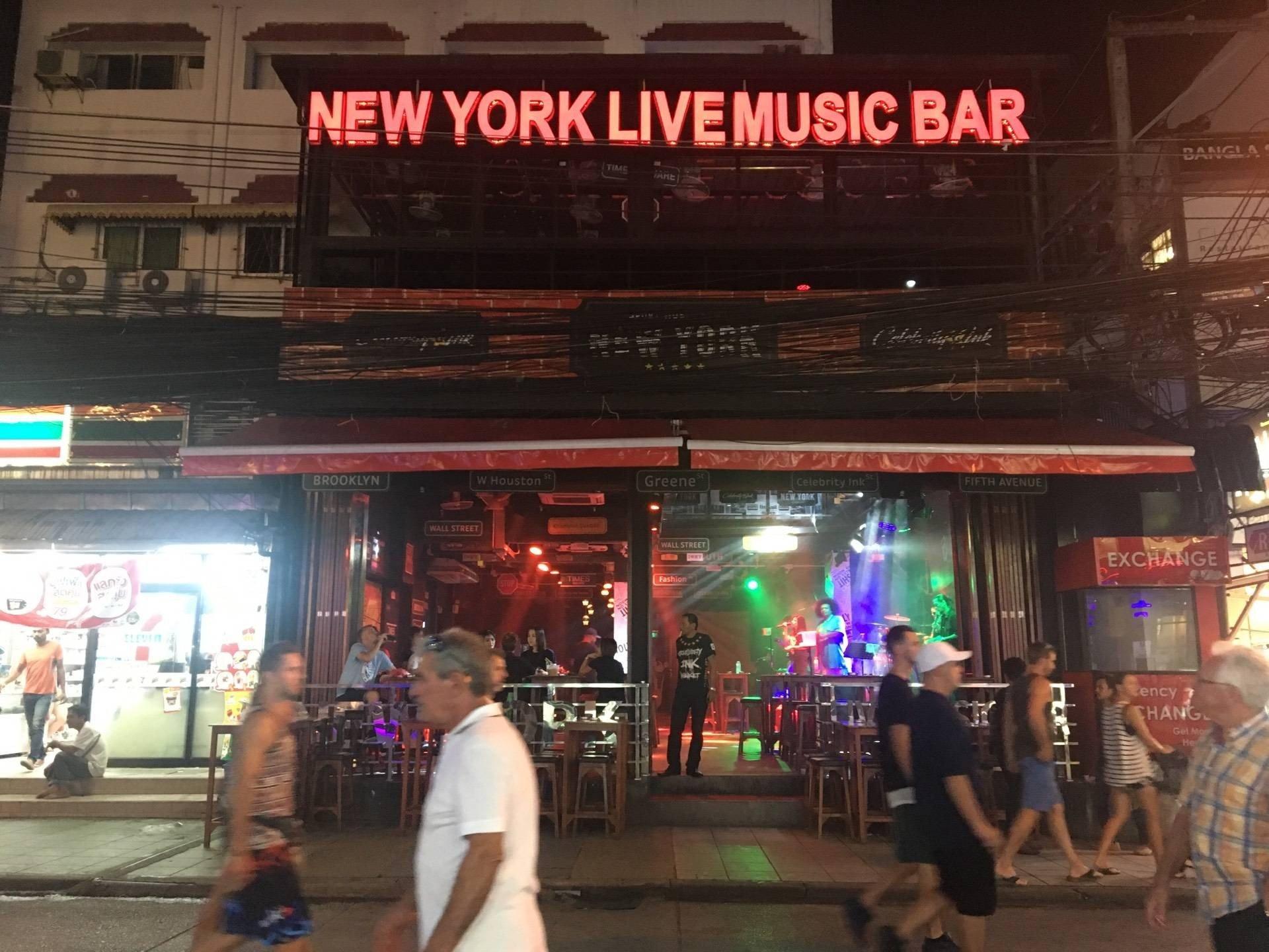 New York Live Music Bar