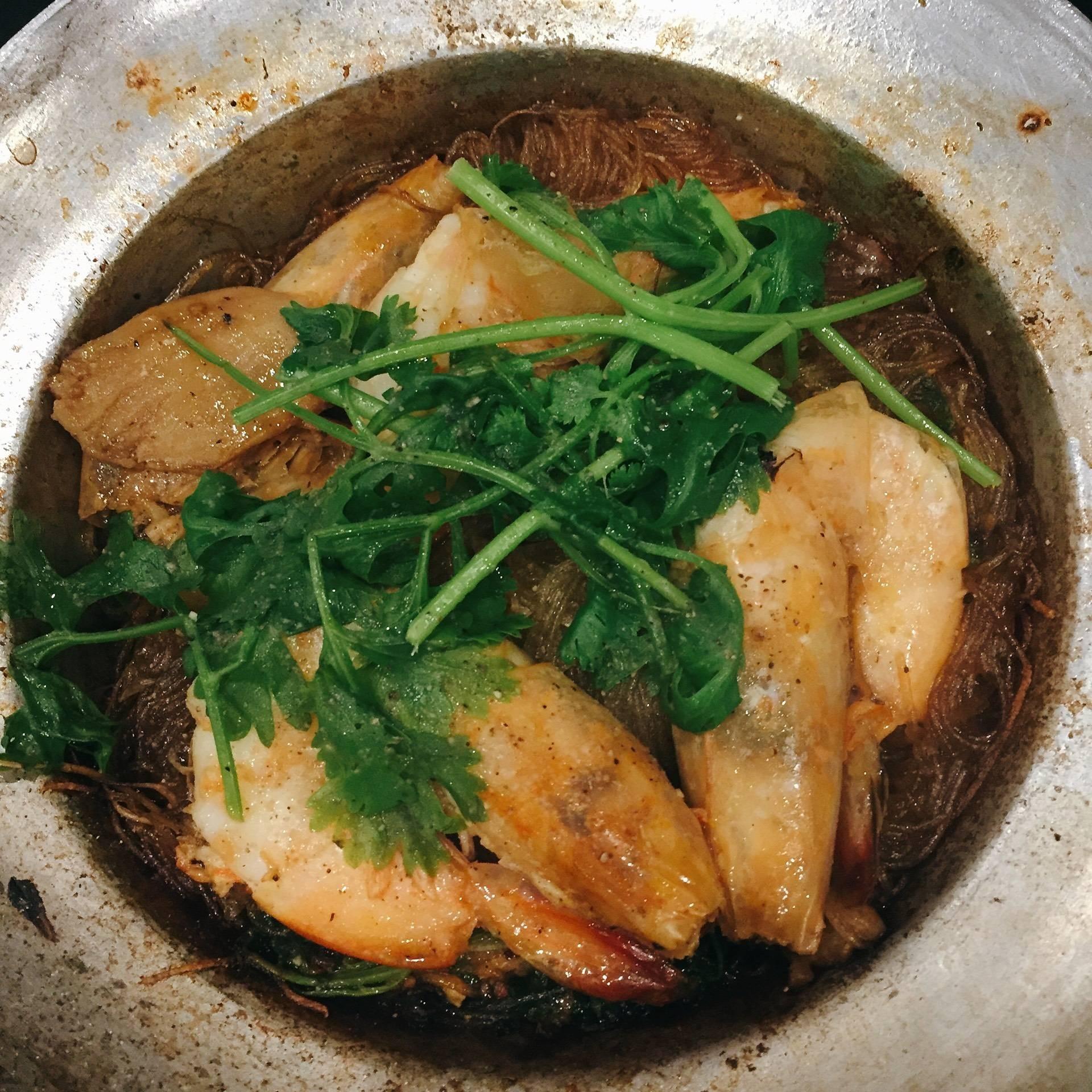 ทับทิมเมี่ยงปลาเผา