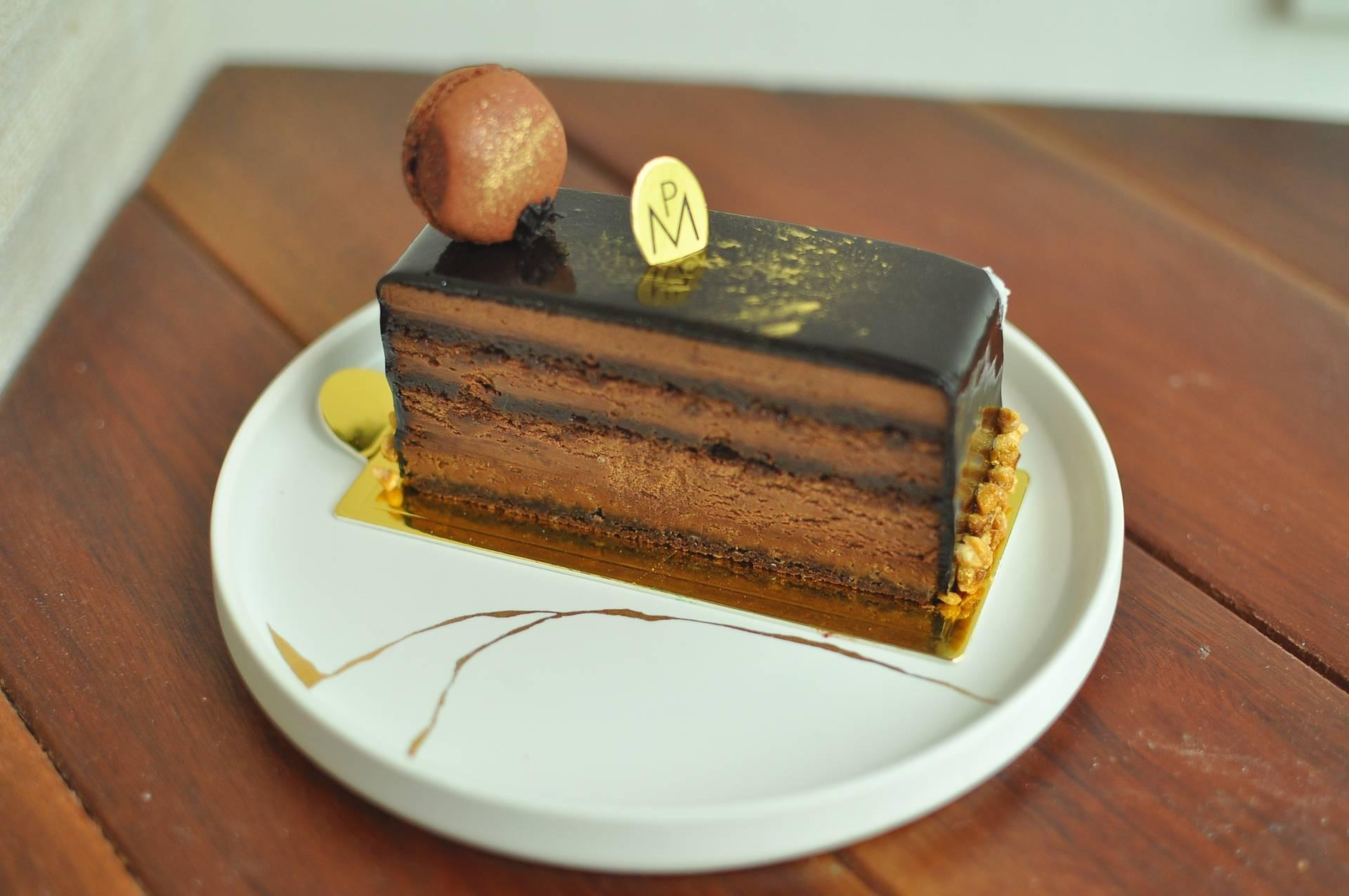 ใครชอบ dark chocolate ต้องสั่ง มันจะขมๆหน่อยแต่ฟินมาก