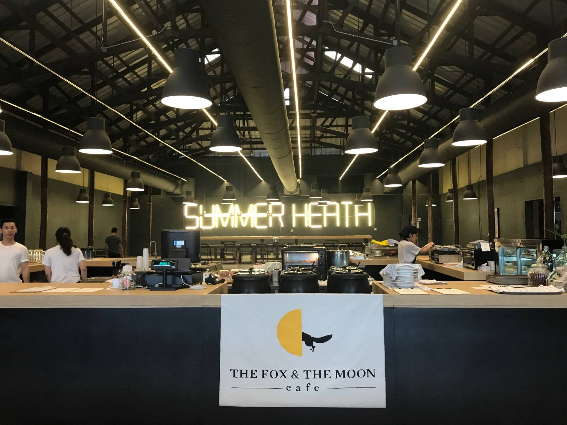 The Fox and The Moon Cafe