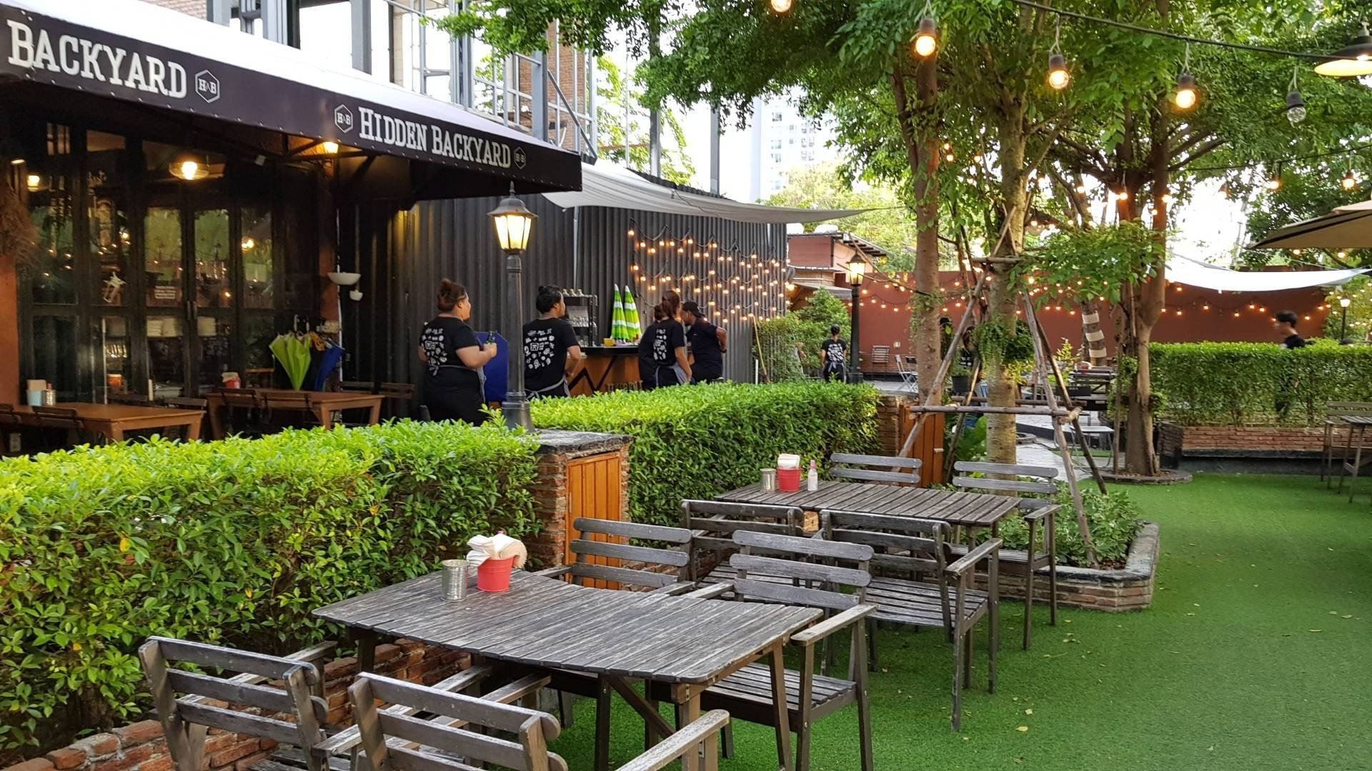 Hidden Backyard Cafe & Hangout