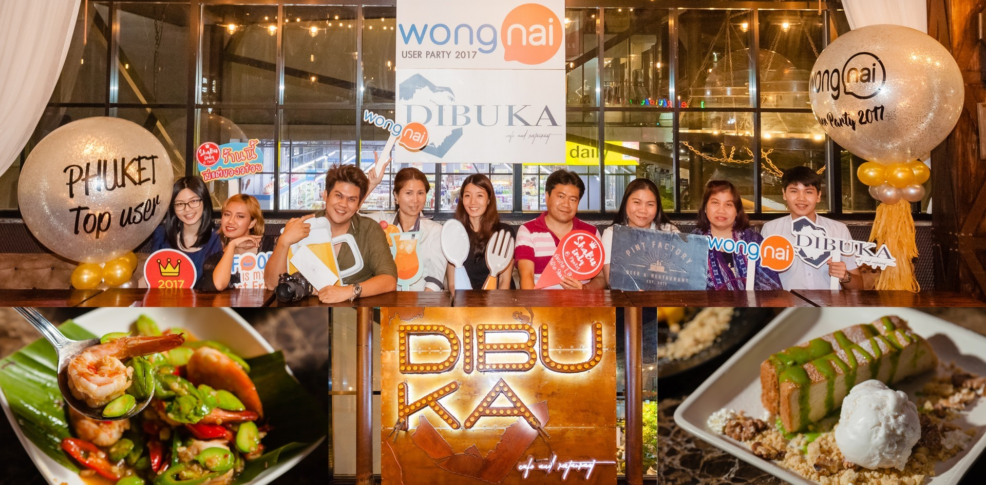 Wongnai Phuket Top User Party ครั้งที่ 4 @DIBUKA