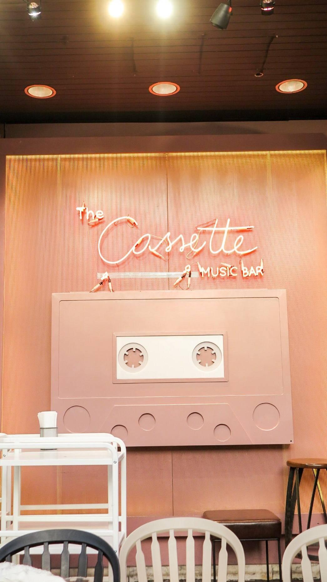 The Cassette Music Bar