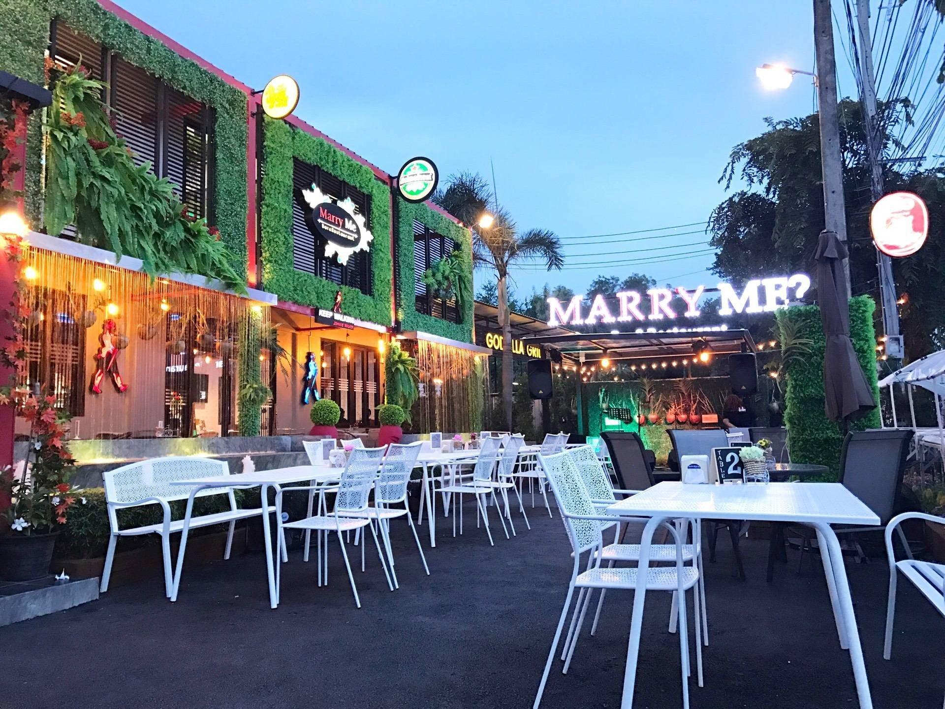 Marry Me Bar&Restaurant เลี่ยงเมืองนนทบุรี สนามบินน้ำ รัตนาธิเบศก์