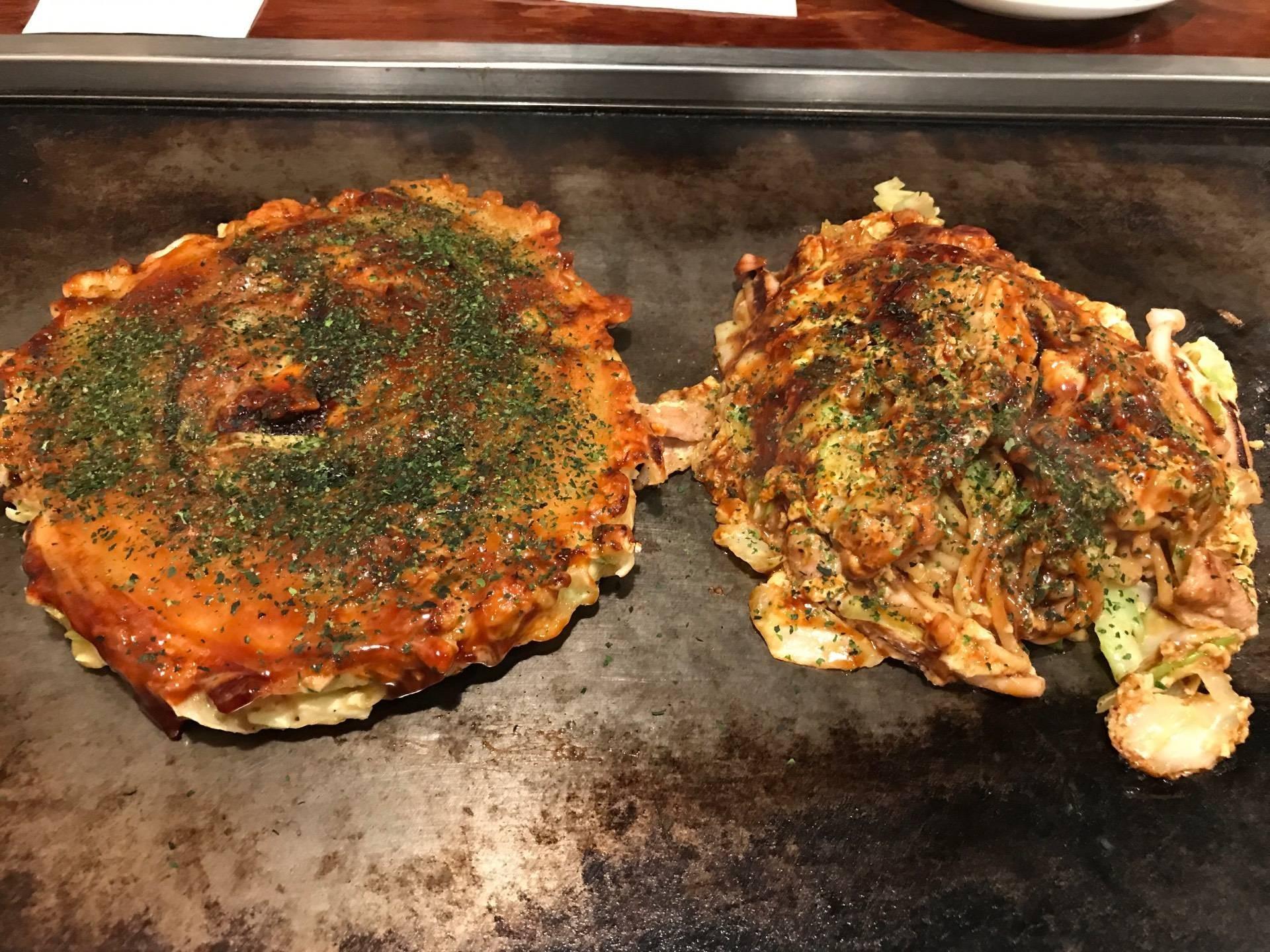 Okonomiyaki Kiji Umeda Sky Building