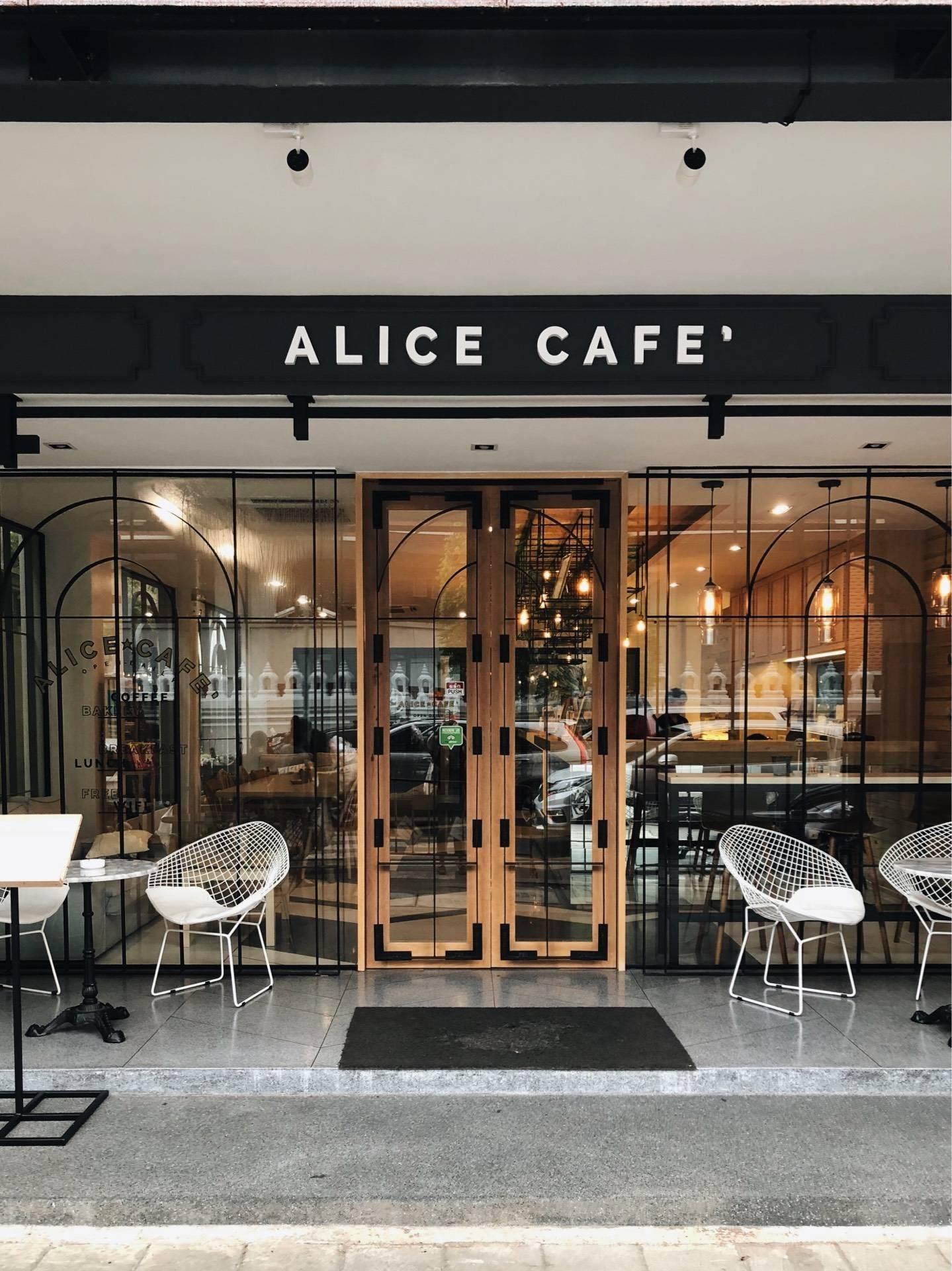 Alice cafe พระนคร