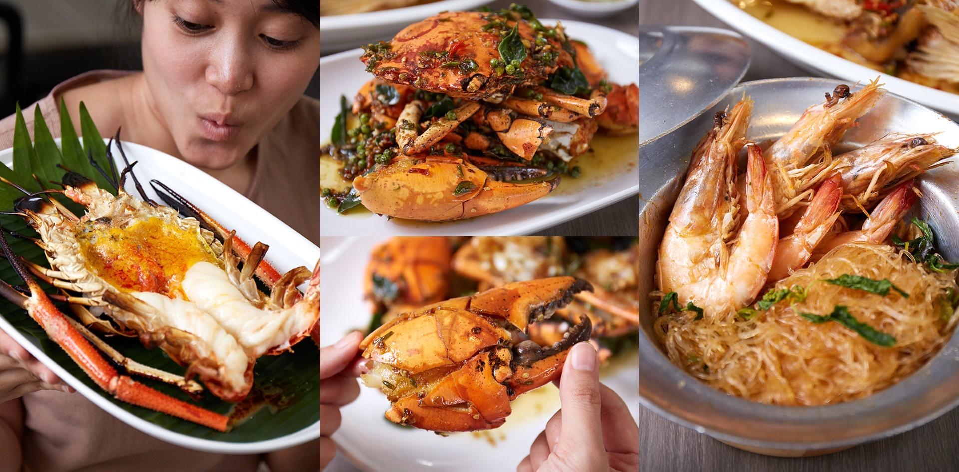"""อาหารทะเลรสชาติไทยแท้สุดจัดจ้านที่ """"กุ้งทอง ซีฟู้ด"""" สดใหม่สะเทือนลิ้น!"""
