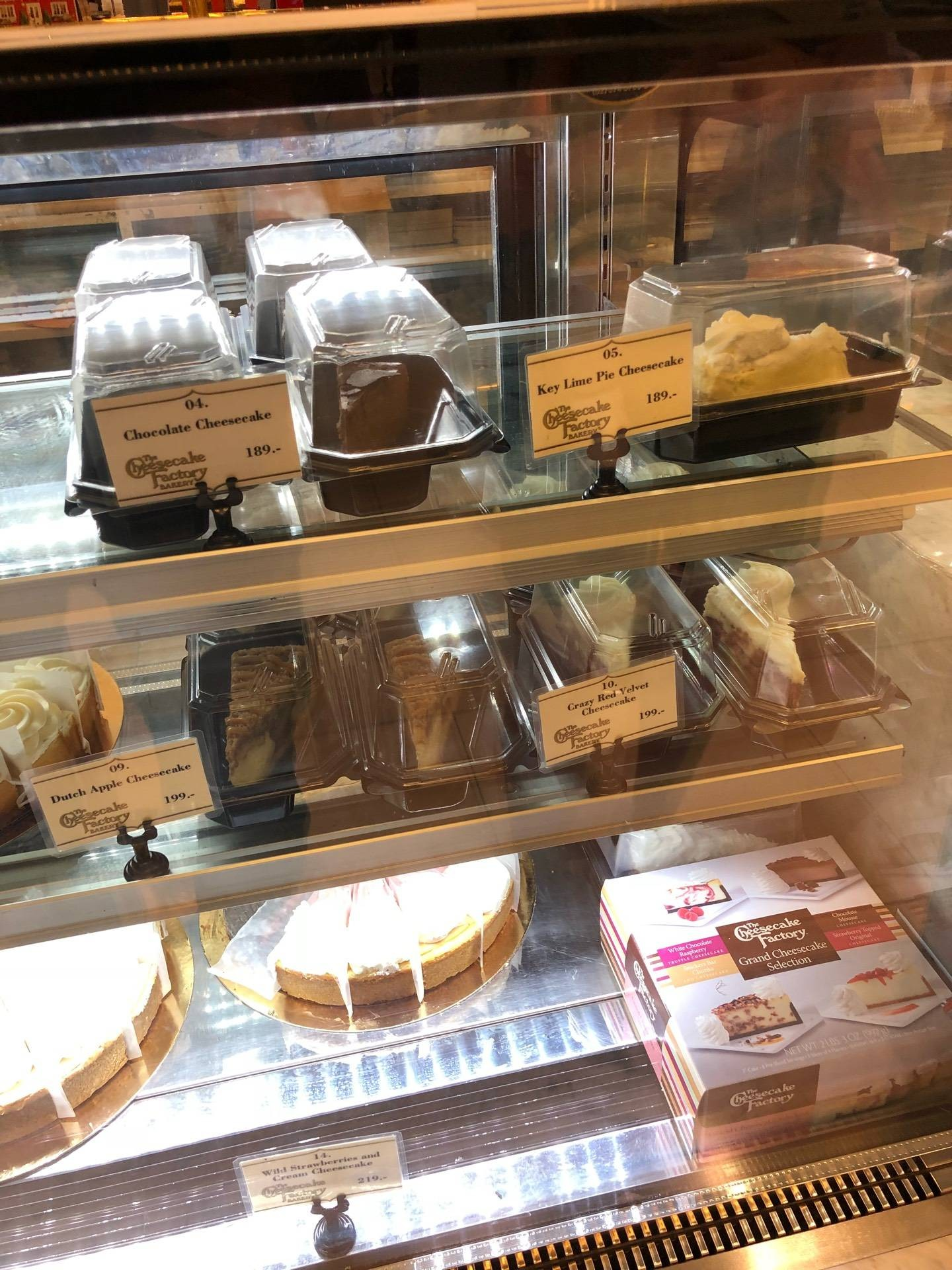 The Cheesecake Factory Bakery สยามพารากอน