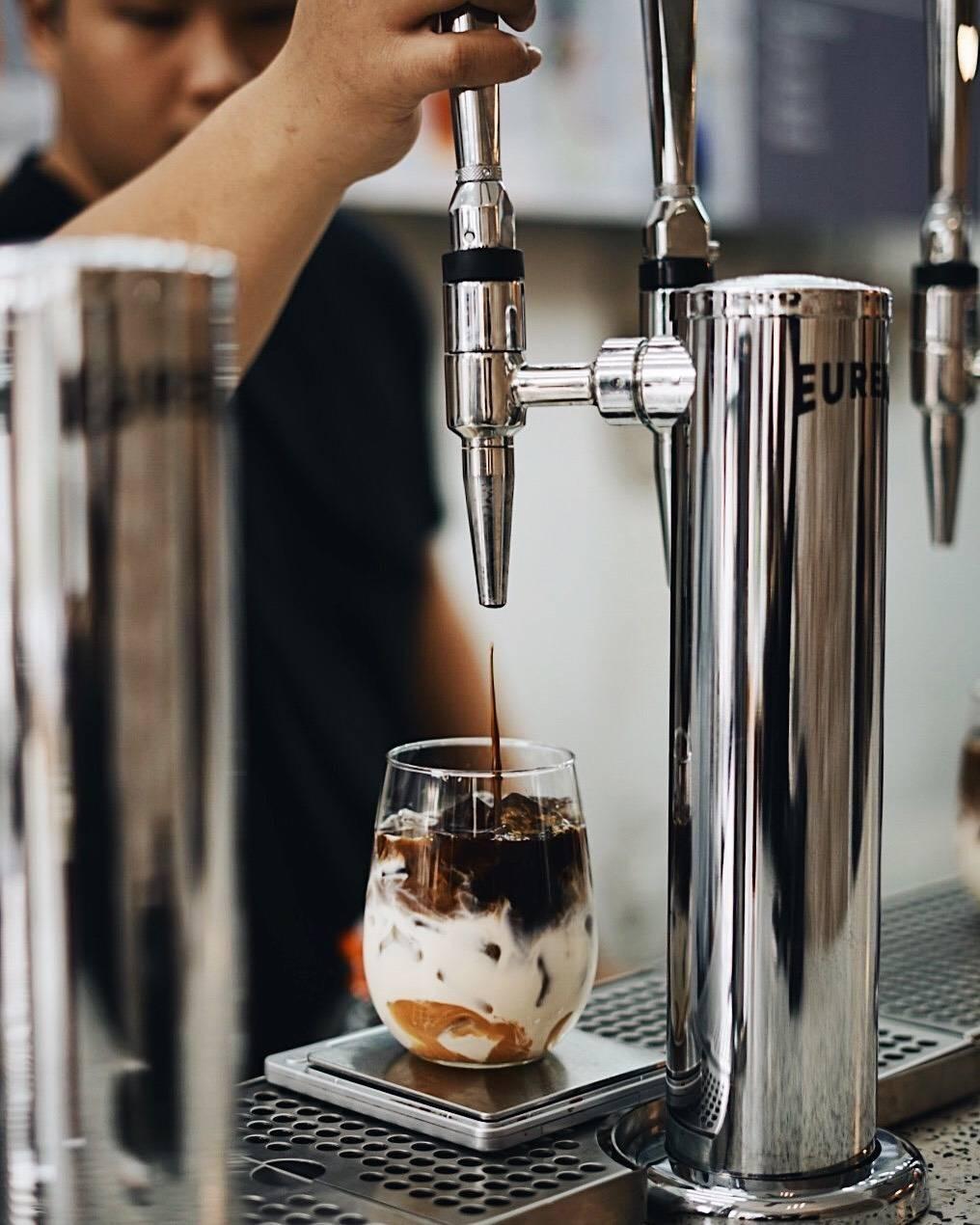 Eureka Coffee tap Saladang