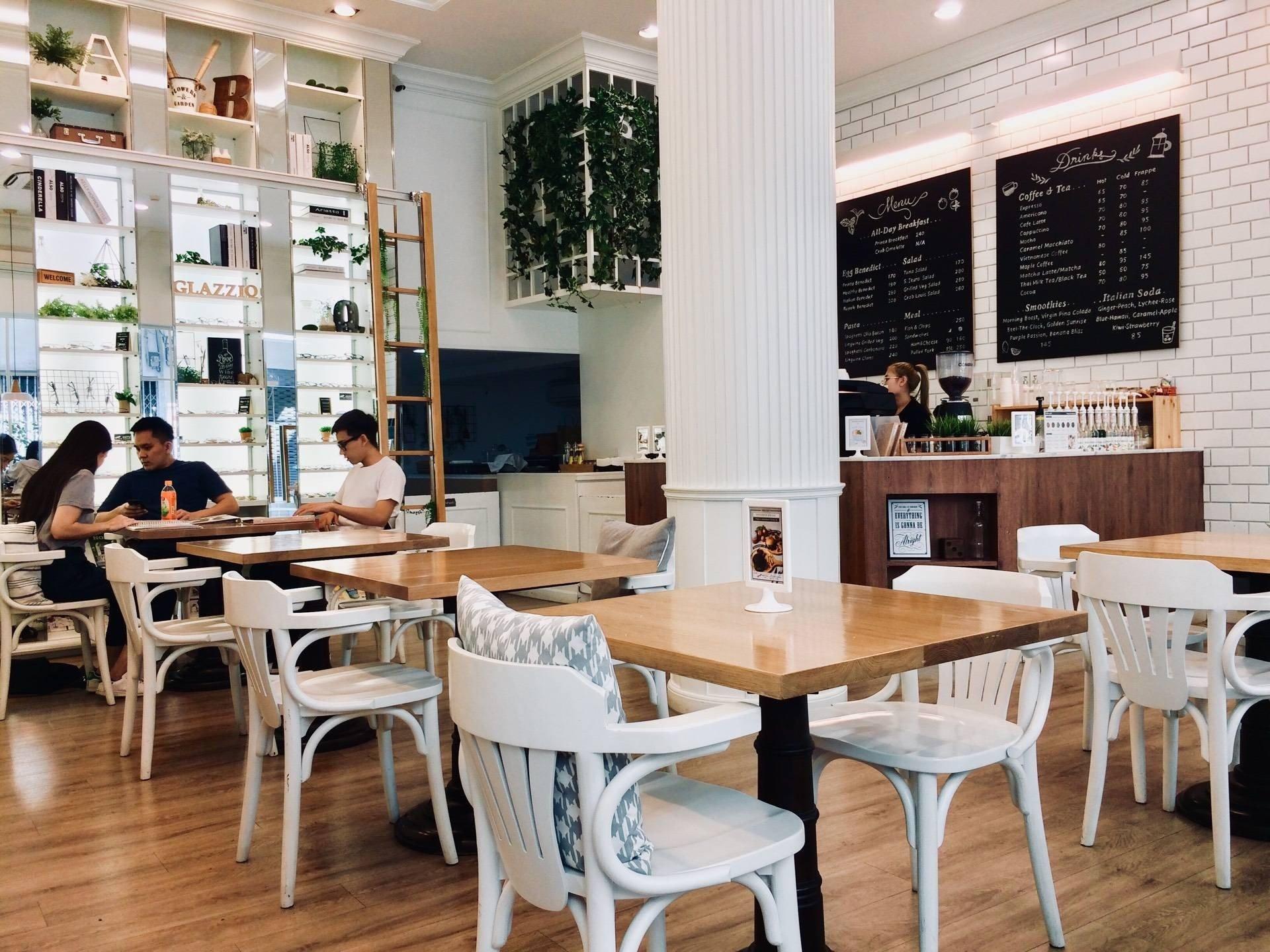 บรรยากาศของร้าน Printa Cafe'.